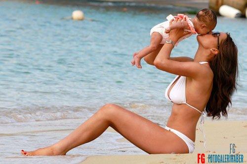 Helen Flanagan Baby