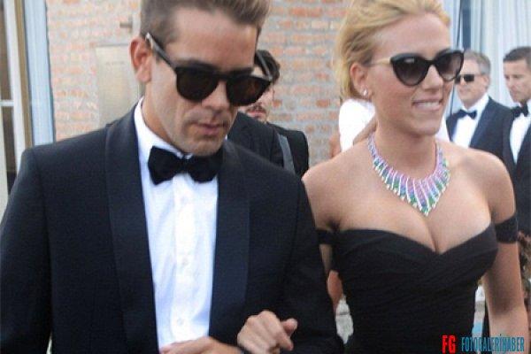 Romain Dauriac ve Scarlett Johansson