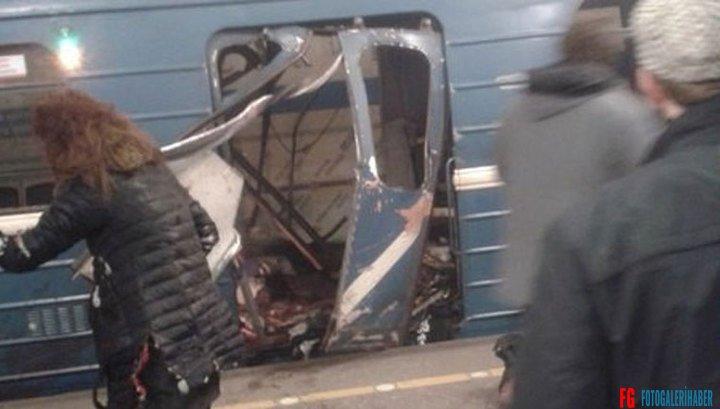 Rusya Petersburg Metrosunda Şiddetli Patlama