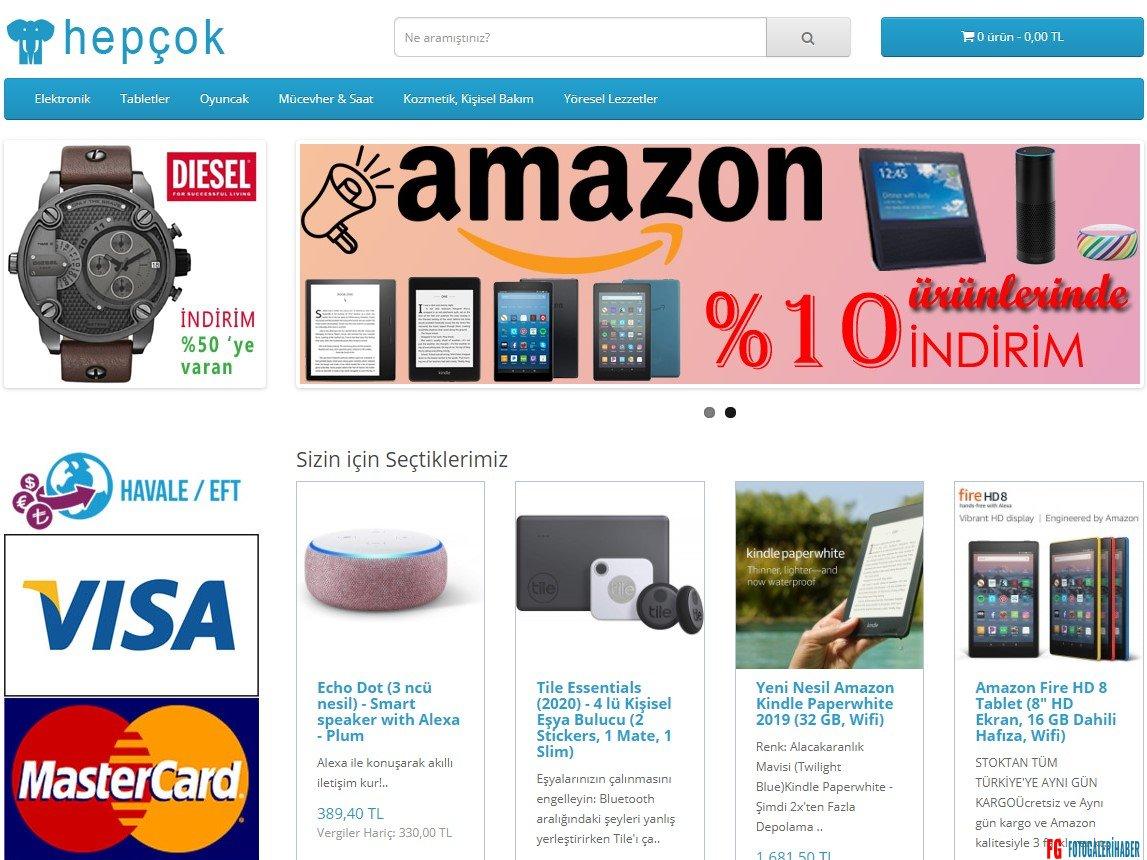 HepCok.com Online Alışveriş Sitesi İndirim, Ucuzluk ve Aynı Gün Kargo ile öne çıkıyor