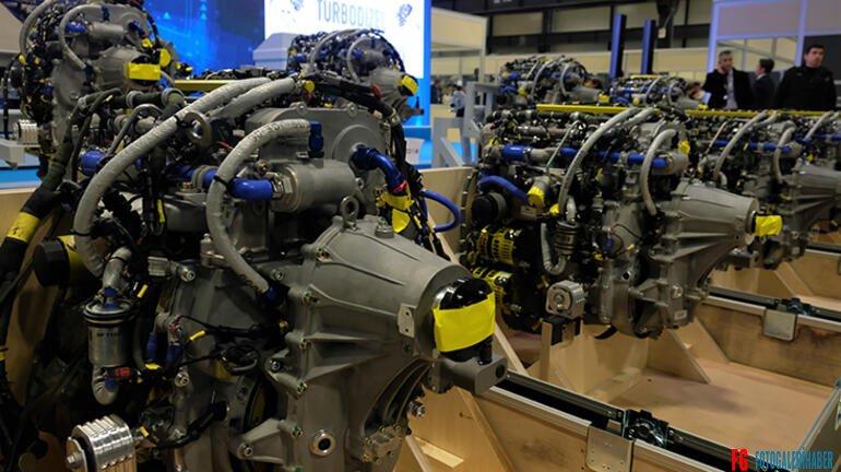 Türkiye'nin ilk yerli ve milli motoru TEI-PD170 teslim edildi!